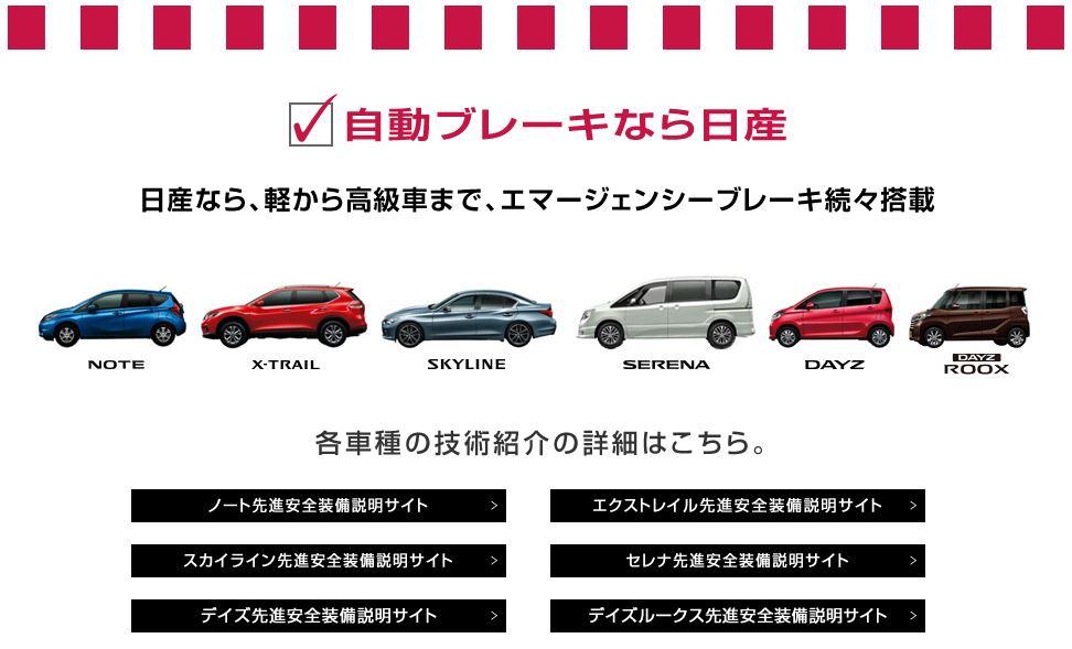 日産 初売り 2015 自動ブレーキ