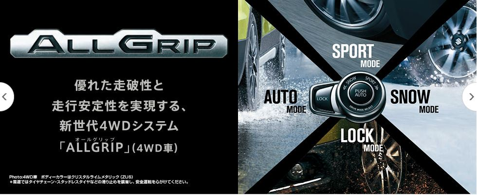 suzuki SX4 s-cross all-grip
