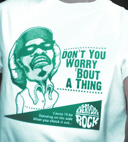 Stevie Wonder T Shirt caricature