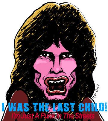 Steven Tyler Aerosmith caricature likeness