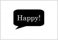 フォトプロップス(Happy)テンプレート・フォーマット・雛形