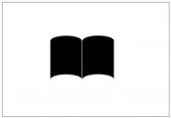 本のテンプレート・図形・絵