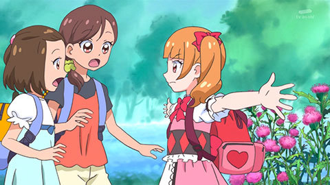 【HUGっと!プリキュア】第09話「丘をこえ行こうよ!レッツ・ラ・ハイキング!」08