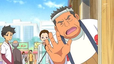 【HUGっと!プリキュア】第10話「ありえな~い!ウエイトレスさんは大忙し!」10