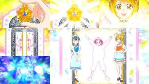 【HUGっと!プリキュア】第10話「ありえな~い!ウエイトレスさんは大忙し!」02