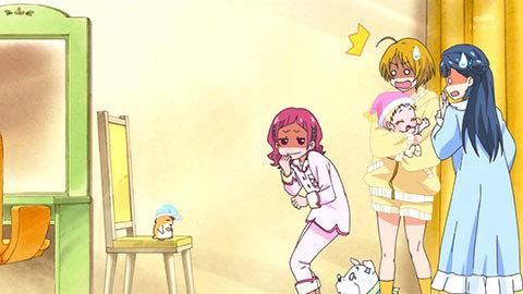 【HUGっと!プリキュア】第12話「ドキドキ!みんなでパジャマパーティー!」02