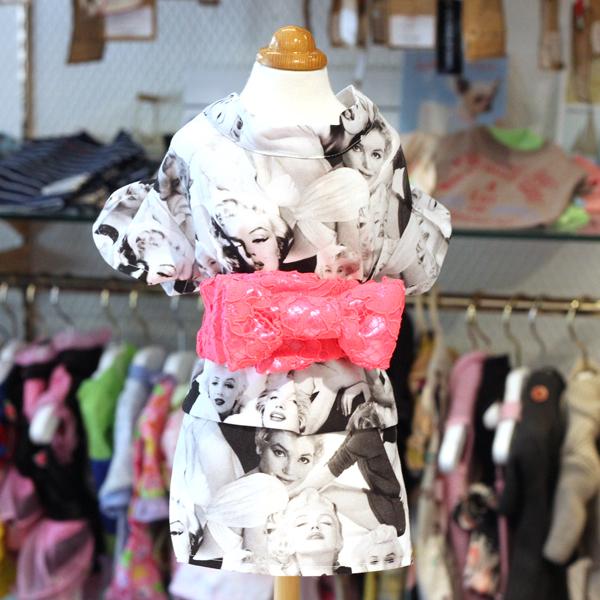 マリリン浴衣モノトーン1