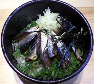 本町製麺所 阿倍野卸売工場 中華そば工房 うるめいわしの漬けご飯