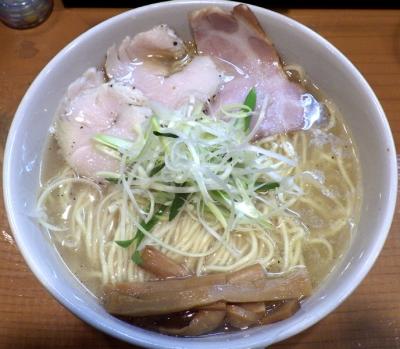 麺屋 一刃 鶏清湯ラーメン 塩