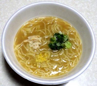 3/19発売 麺NIPPON 京都金色鶏白湯ラーメン(できあがり)