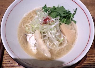 麺と心 7 鯛白湯ラーメン