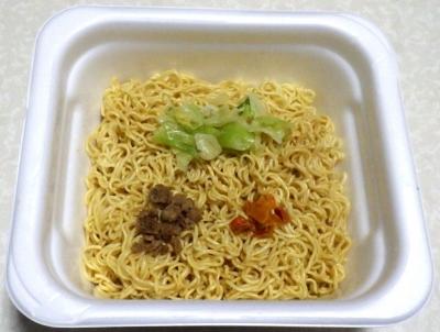 4/9発売 俺の塩 トリュフ香る塩焼そば(できあがり)