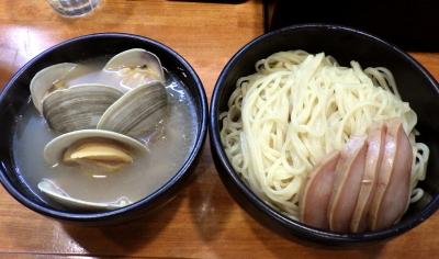 哲史 ホンビノス貝塩つけ麺