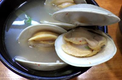 哲史 ホンビノス貝塩つけ麺(ホンビノス貝)