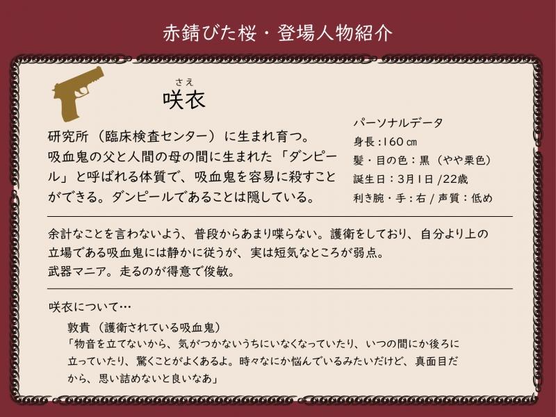 キャラ紹介咲衣