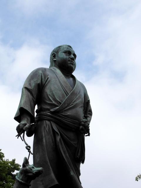 西郷隆盛 上野