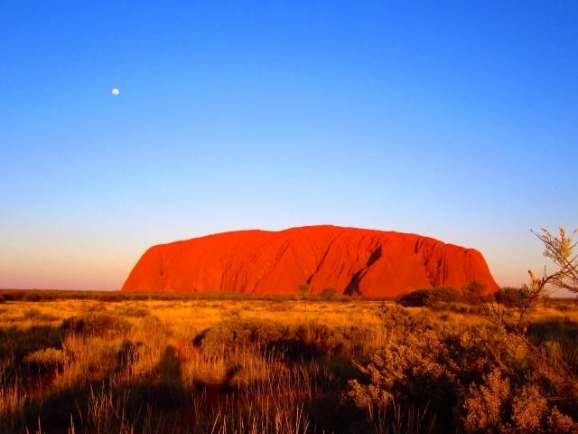 エアーズロック オーストラリア 有村架純 撮影