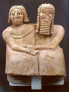 1814ed53b5a173326213510c7ca566e3--ancient-mesopotamia-married-couplesシュメール人