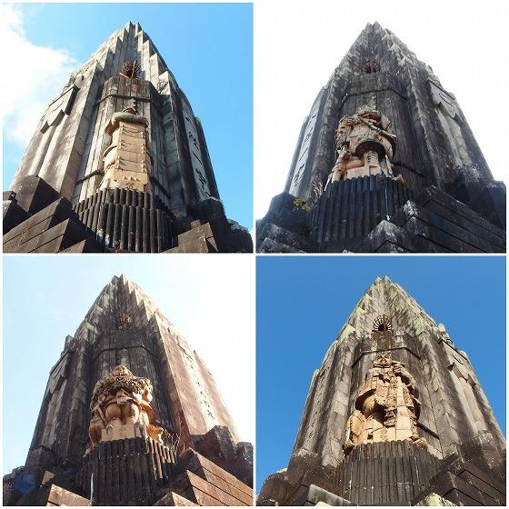180218平和台の塔四神像