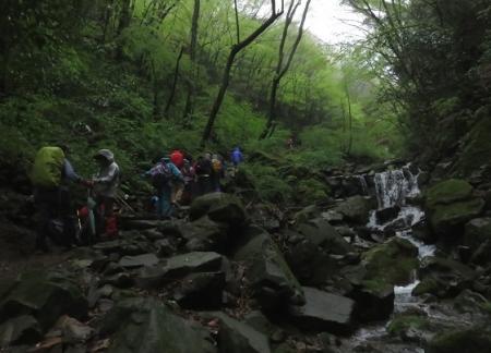 カラ迫岳山開き 2018-04-15 056