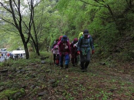カラ迫岳山開き 2018-04-15 038