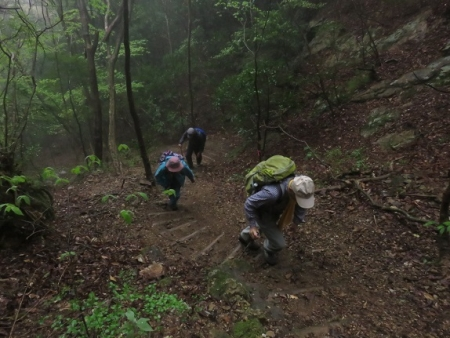 カラ迫岳山開き 2018-04-15 088