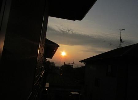 朝日とスズメ 1980-01-01 020