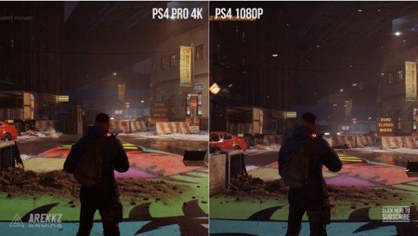 ディビジョン HDR比較 PS4