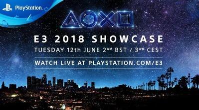 【悲報】E3 2018ソニーカンファで発表されるタイトルリストがガバガバwwwwほとんど何もない…