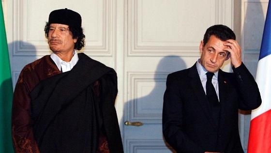 サルコジ元大統領 リビア疑惑