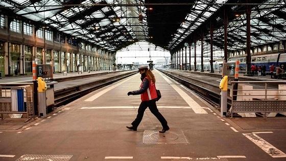 フランス国鉄スト