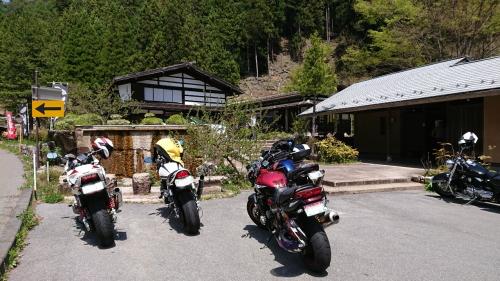 ゴールデンウイークツーリング 飯田・村の茶屋/豊田・茶臼山