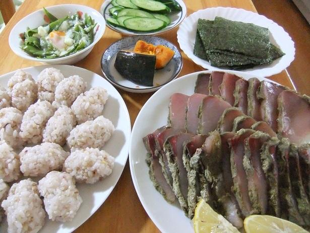 手巻き寿司、きぬさや晦