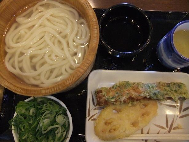 丸亀製麺(レンコンちくわ天)