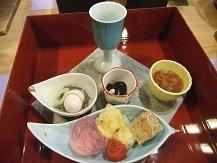ホテル夕食1