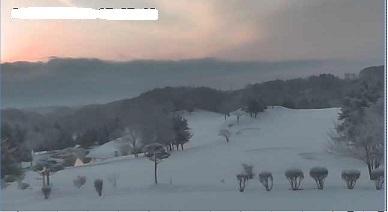 朝降雪クローズ