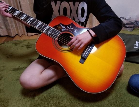 2018.04長女のギター
