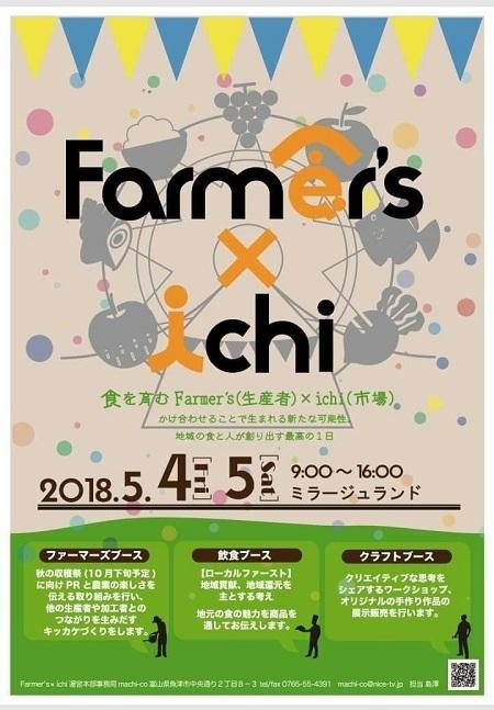 2018.05Farmer's×ichiチラシ