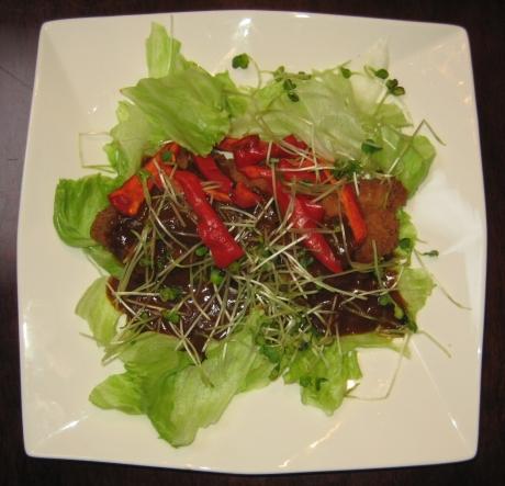 チキンカツサラダ