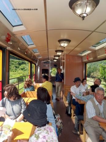 わたらせ渓谷鉄道トロッコ列車
