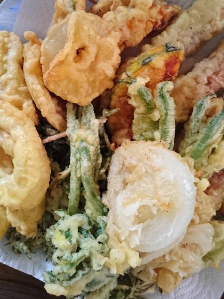 山菜テンプラ