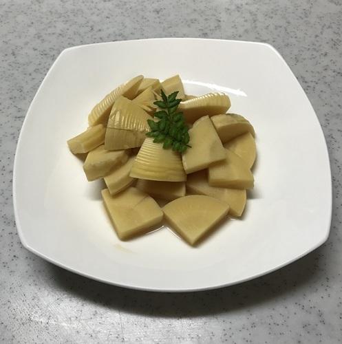 2018筍の煮物