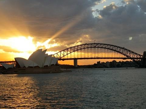 シドニー夕方ランニング4
