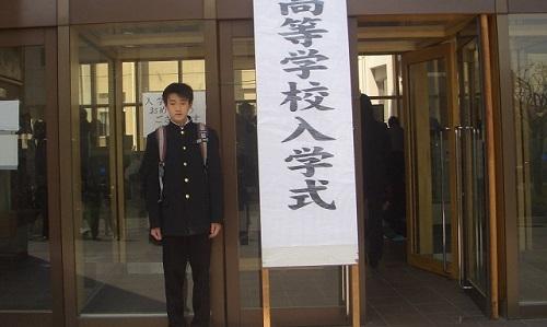 高校入学式 (11)