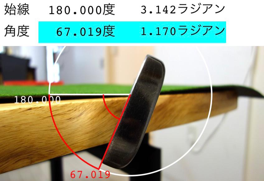ヒロマツモトG-4重心角