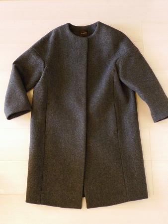 先日買ったコート・手持ちの小物でコーディネイト・今日のチワワ