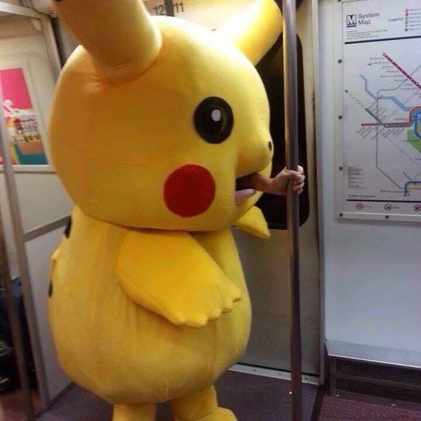 電車に乗るときは