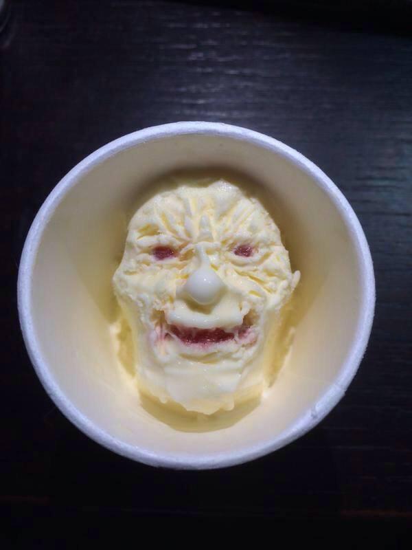 アイスの食べ方2