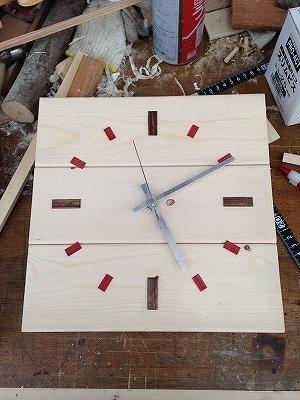 自作子供部屋時計 (1)