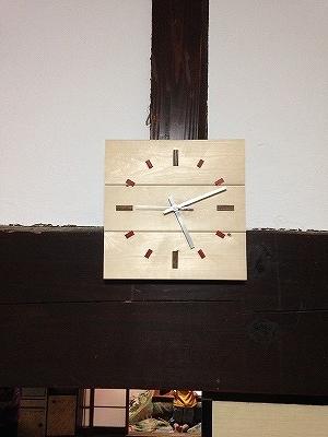 自作子供部屋時計 (2)